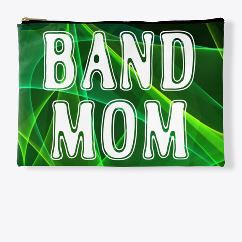 Band Mom Outline   Green Collection Standard T-Shirt Front