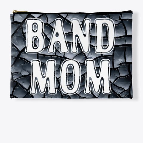 Band Mom Outline   Black Crackle  Standard T-Shirt Front