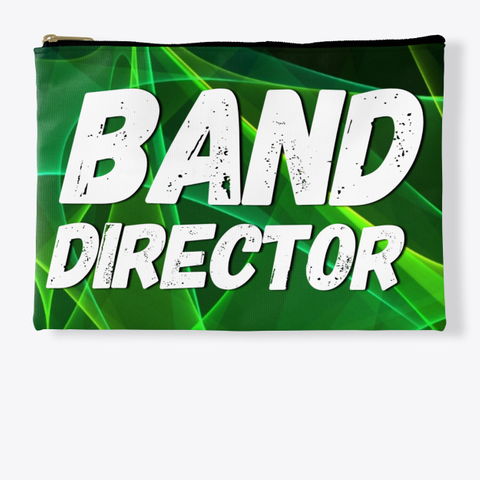 Band Director Green Collection Standard T-Shirt Front