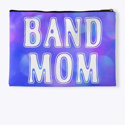 Band Mom Outline   Blue Pink Collection Standard T-Shirt Back