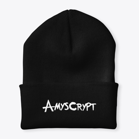 Amy's Crypt Beanie Black T-Shirt Front