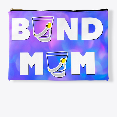 Band Mom Shako   Blue Pink Collection Standard T-Shirt Front