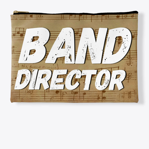 Band Director   Score Collection Standard T-Shirt Front