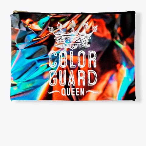 Color Guard Queen (Crown)   Foil Collection  Standard T-Shirt Front