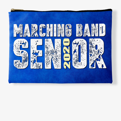 Marching Band Class Of 2020 Blue Collect Standard T-Shirt Front