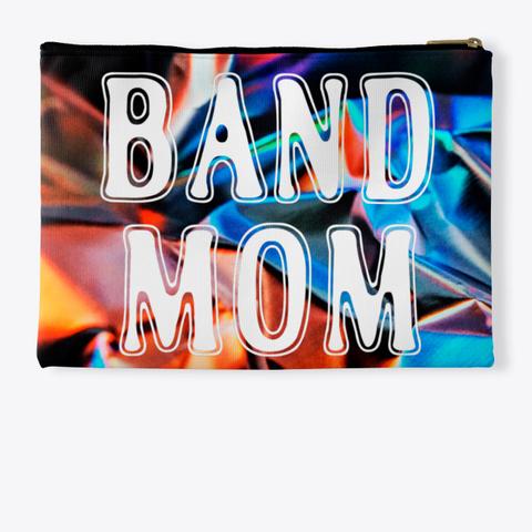 Band Mom Outline   Foil Collection Standard T-Shirt Back