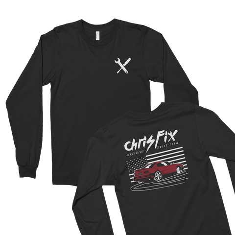 Mustang   X Black T-Shirt Front