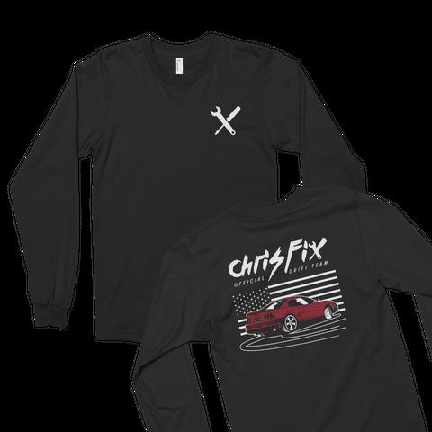 Drift Stang Black T-Shirt Front