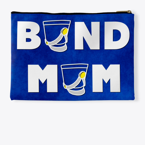 Band Mom Shako   Blue Collection Standard T-Shirt Back