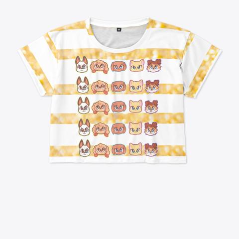 #The Basic Pets   Crop Top! Standard T-Shirt Front