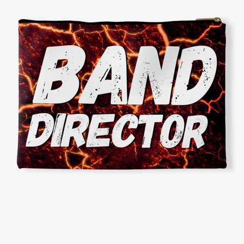 Band Director   Lava Collection Standard T-Shirt Back