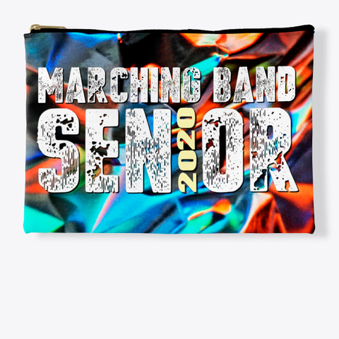 Marching Band Class Of 2020 Foil Collection Standard Kaos Front