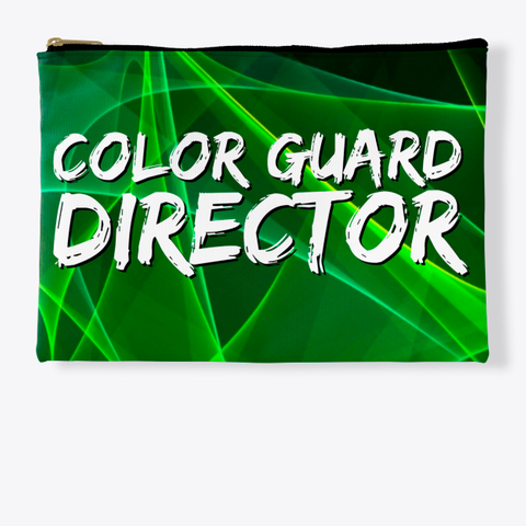 Color Guard Director   Green Collection Standard T-Shirt Front