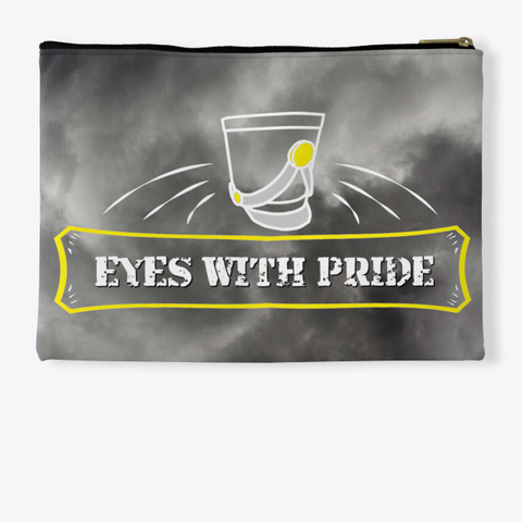 Eyes With Pride   Black Cloud Collection Standard T-Shirt Back
