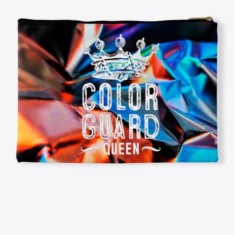 Color Guard Queen (Crown)   Foil Collection  Standard T-Shirt Back