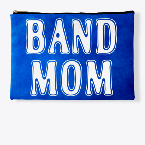Band Mom Outline   Blue Collection Standard T-Shirt Front