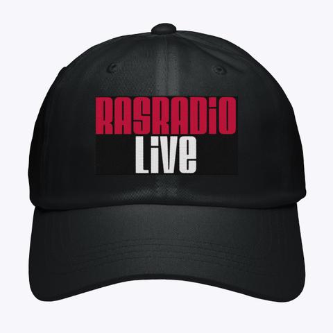 Ras Hat Black T-Shirt Front