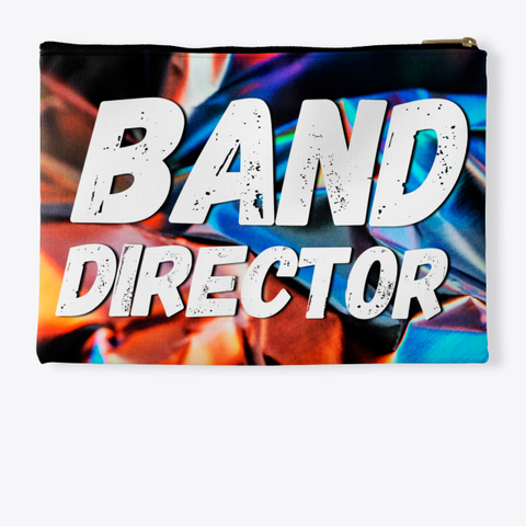 Band Director   Foil Collection Standard T-Shirt Back