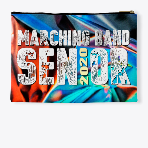 Marching Band Class Of 2020 Foil Collection Standard Kaos Back