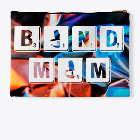 Band Mom Scrabble   Foil Collection Standard T-Shirt Back