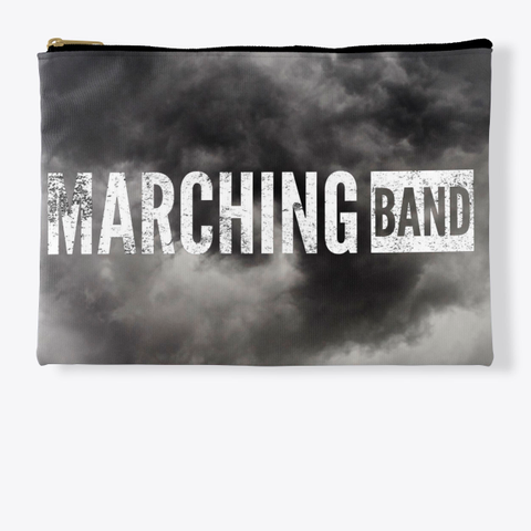 Marching Band   Black Cloud Collection Standard T-Shirt Front