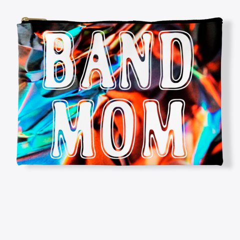 Band Mom Outline   Foil Collection Standard T-Shirt Front