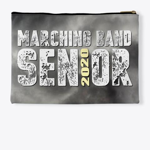 Marching Band Class Of 2020 Black Cloud  Standard T-Shirt Back