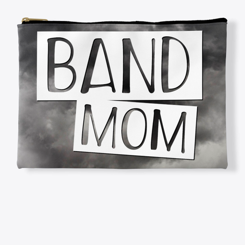 Band Mom   Black Cloud Collection Standard T-Shirt Front