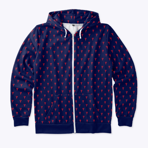 Lobster Hoodie Standard T-Shirt Front
