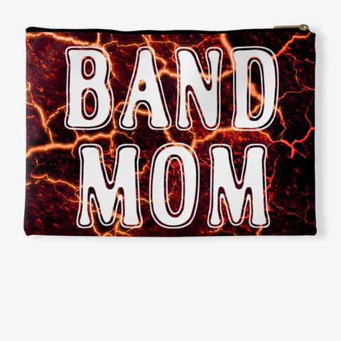 Band Mom Outline   Lava Collection Standard T-Shirt Back