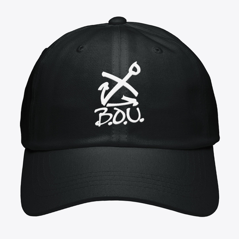 B.O.U. Black T-Shirt Front