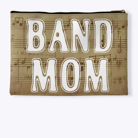 Band Mom Outline   Score Collection Standard T-Shirt Back