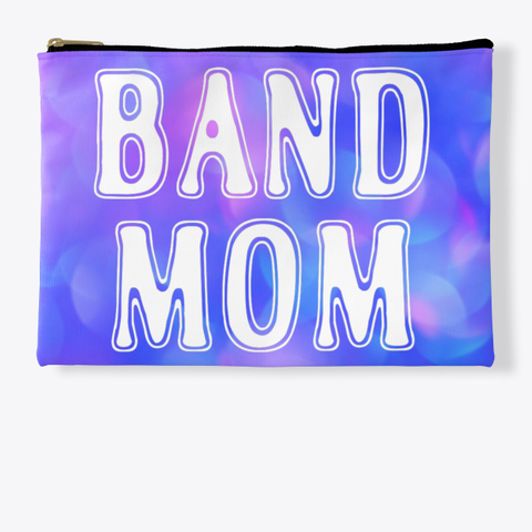 Band Mom Outline   Blue Pink Collection Standard T-Shirt Front