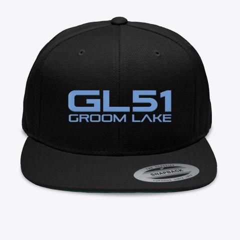 Official Gl51 Hat Black T-Shirt Front