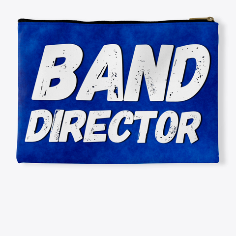 Band Director   Blue Collection Standard T-Shirt Back