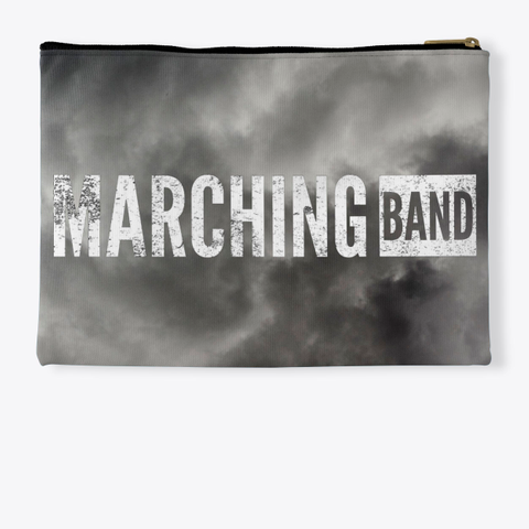 Marching Band   Black Cloud Collection Standard T-Shirt Back