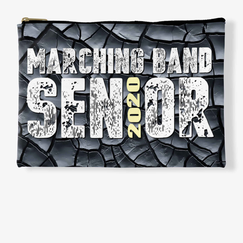 Marching Band Class Of 2020 Black C. Standard T-Shirt Front