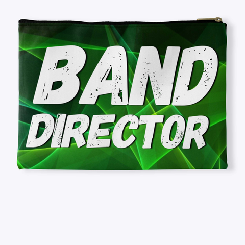 Band Director Green Collection Standard T-Shirt Back
