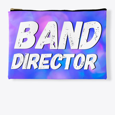 Band Director   Blue Pink Collection Standard T-Shirt Front