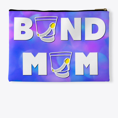 Band Mom Shako   Blue Pink Collection Standard T-Shirt Back