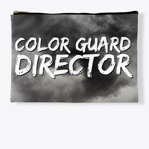 Color Guard Director   Black Cloud Collection Standard T-Shirt Front