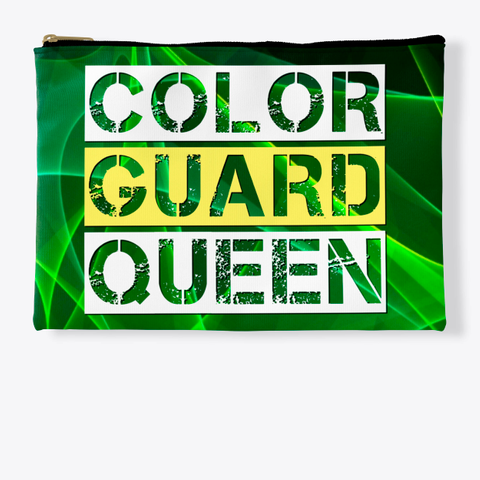 Color Guard Queen   Green Collection Standard T-Shirt Front