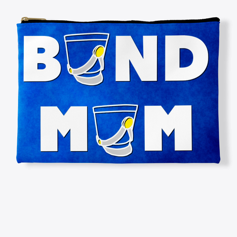 Band Mom Shako   Blue Collection Standard T-Shirt Front