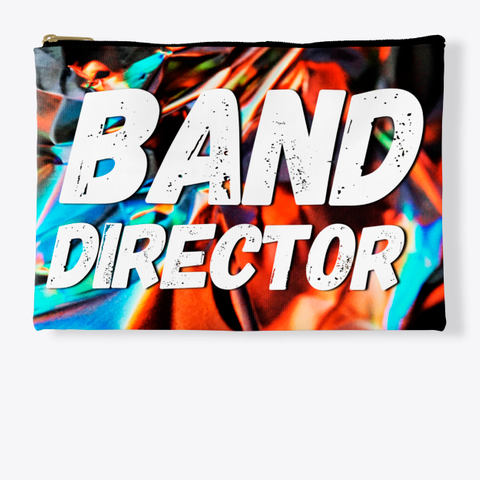 Band Director   Foil Collection Standard T-Shirt Front