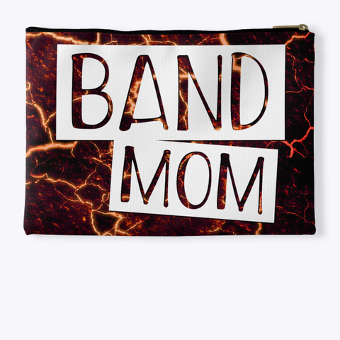 Band Mom   Lava Collection Standard T-Shirt Back