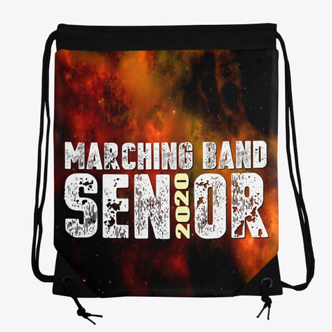 Marching Band Class Of 2020   Universe Collection Standard T-Shirt Front