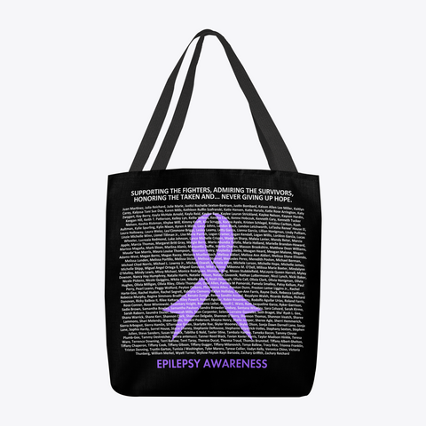 Epilepsy   Names (5631377t)   R3 Standard T-Shirt Back