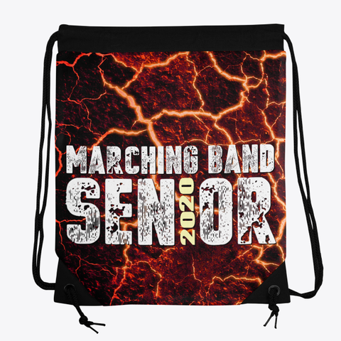 Marching Band Class Of 2020   Lava Collection Standard T-Shirt Front