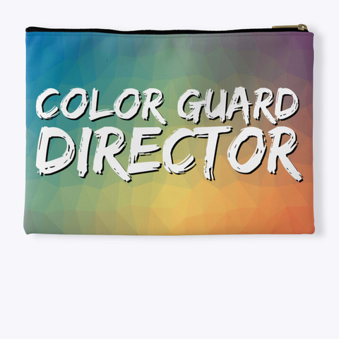 Color Guard Director   Mosaic Collection Standard T-Shirt Back