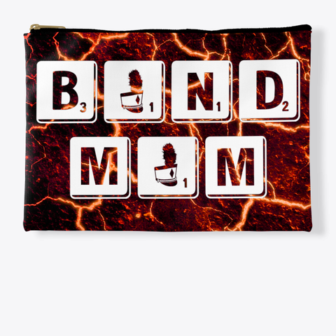 Band Mom Scrabble   Lava Collection Standard T-Shirt Front